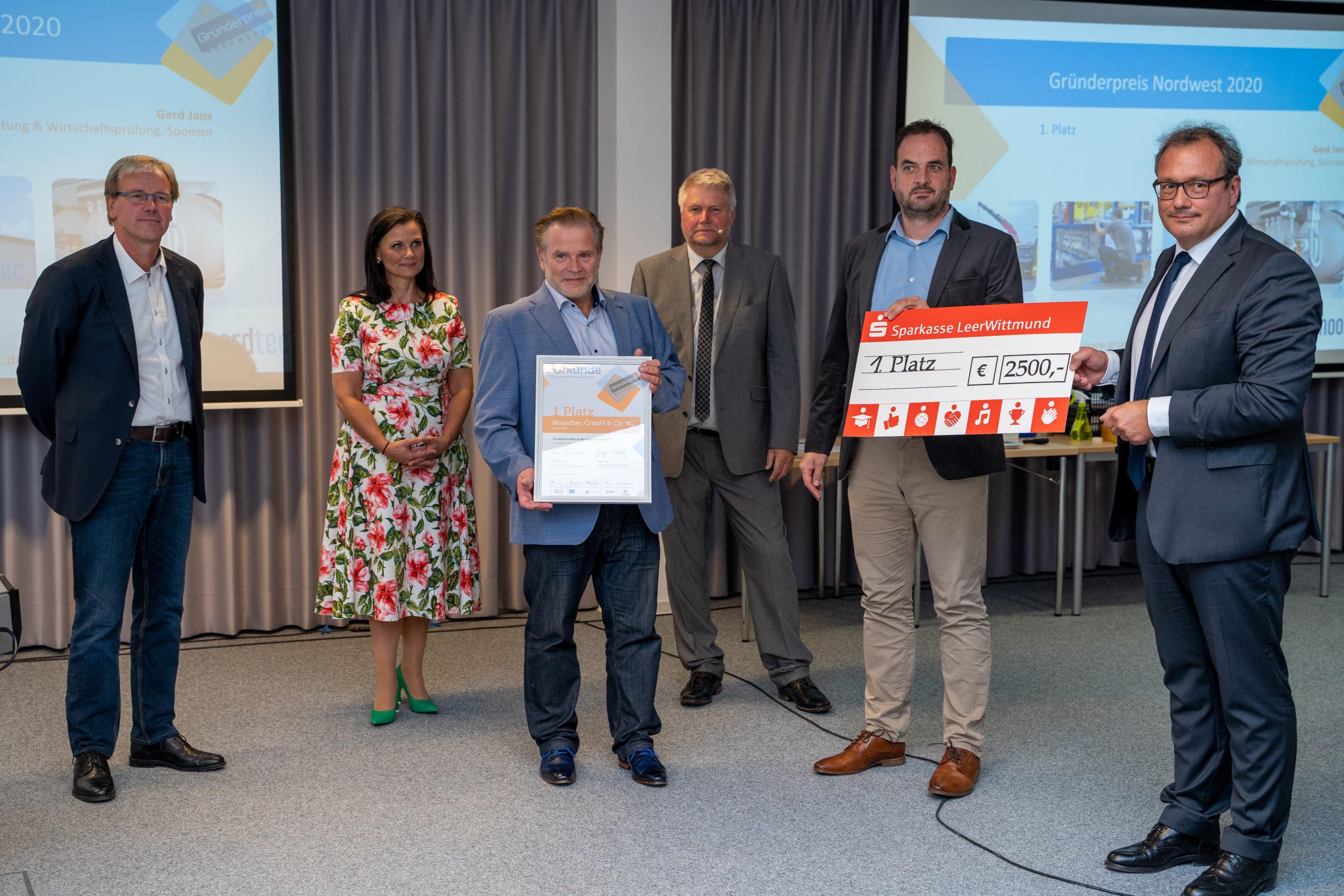 Gründerpreis Nordwest Gewinner 2020